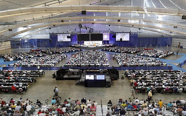 Assembleia Geral da Igreja Presbiteriana em 2012.