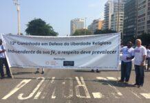 Dr. Gilberto Garcia na 12ª Caminhada em Copacabana-Rio, RJ