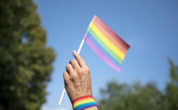 Bandeira do ativismo lgbt