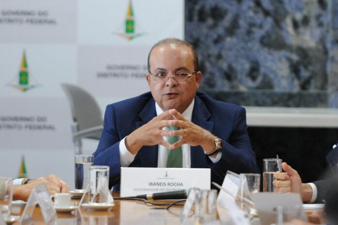 Ibanes Rocha é o atual governador do Distrito Federal