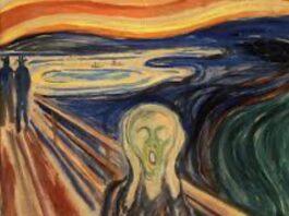 O Grito é a obra-prima do pintor norueguês Edvard Munch