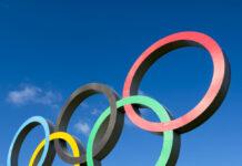Os anéis olímpicos é um dos símbolo das Olimpíadas