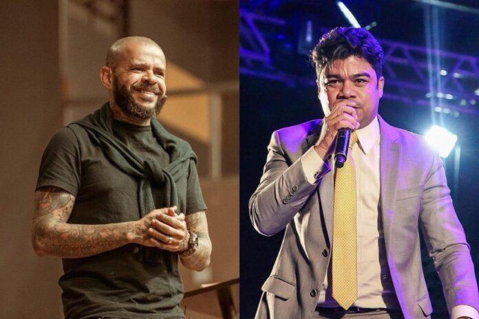 Pastor Anderson Silva e Samuel Mariano - Foto: Reprodução