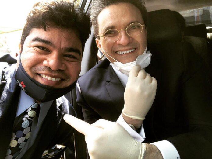 Samuel Mariano e Bispo Samuel Ferreira - Foto: Reprodução