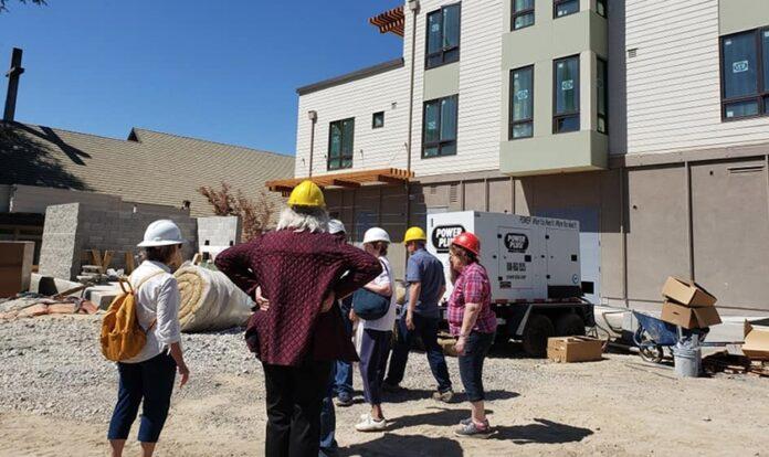 Construção na Igreja St. Paul em Walnut Creek, Califórnia. (Foto: St. Paul's Episcopal Church)