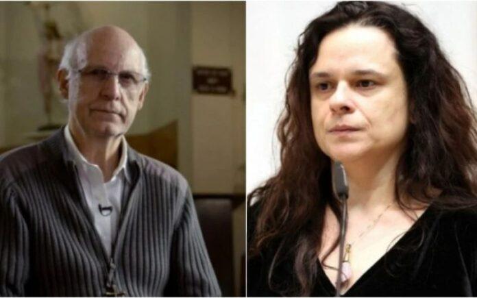 Padre Júlio Lancellotti e Janaina Paschoal, deputada estadual pelo PSL (Foto: Montagem)