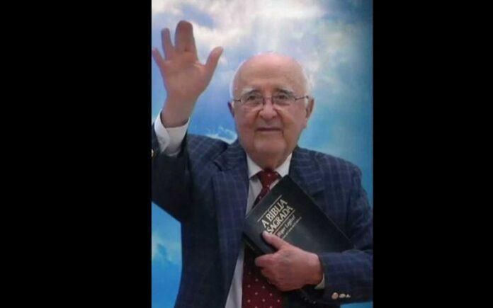 Pastor Joaquim Gonçalves Silva, 85, morreu vítima da covid-19