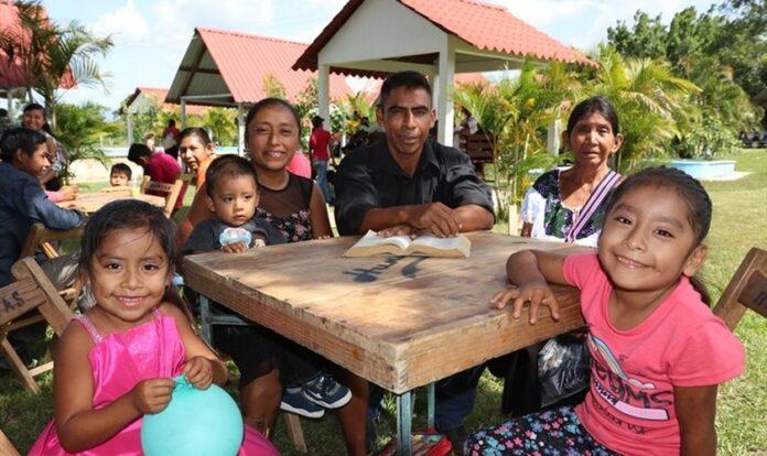 Famílias cristãs no México