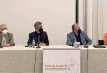 Participantes do II Fórum Interdenominacional de Reflexão Evangélica sobre a eutanásia. / Actualidad Evangelica.