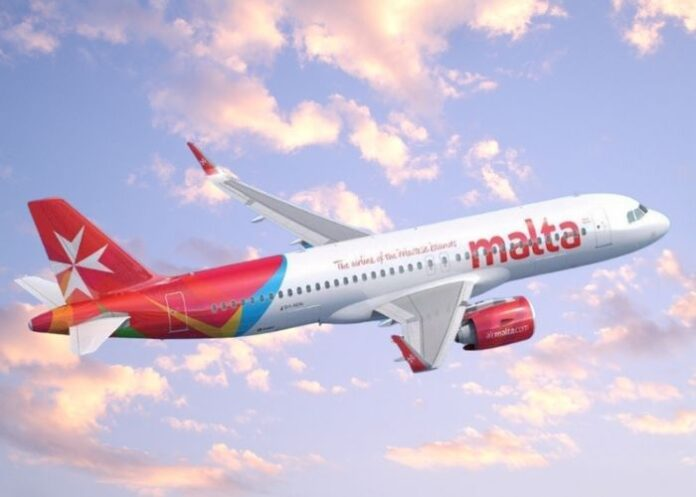 Avião da empresa Air Malta