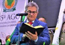 Pastor Roberto José dos Santos é o pastor presidente das Assembleias de Deus na cidade de Abreu e Lima, em Pernambuco.