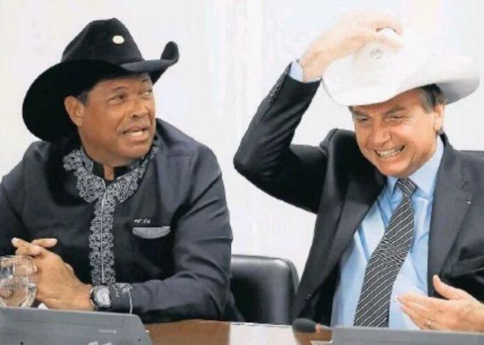 Valdemiro Santiago e Jair Bolsonaro