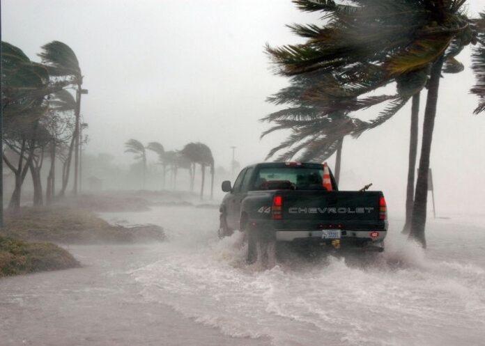 Furacão provoca ventos fortes, inundações e destruição (Foto ilustrativa)