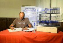 Wandemberg Marques transcreveu a Bíblia à mão em tempo recorde (Foto: arquivo pessoal)