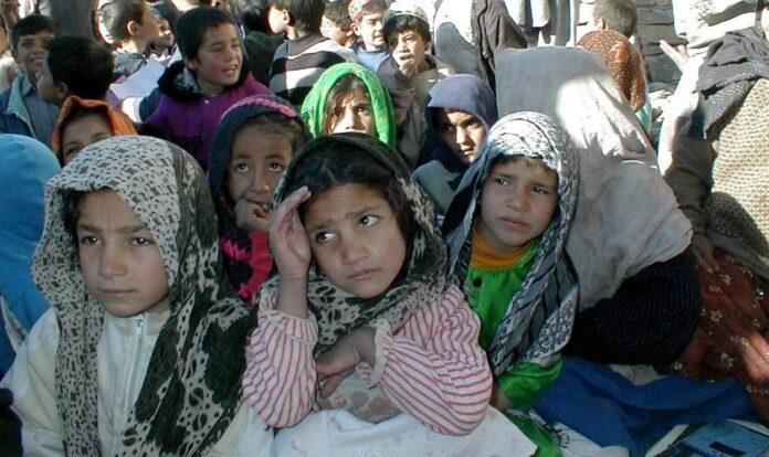 Crianças no Afeganistão.