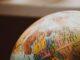 Globo do mapa do mundo