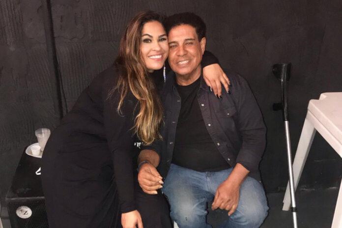 Moisés Nascimento ao lado da sua sobrinha Michelle Nascimento - Foto: Reprodução