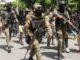 Policiais no Haiti