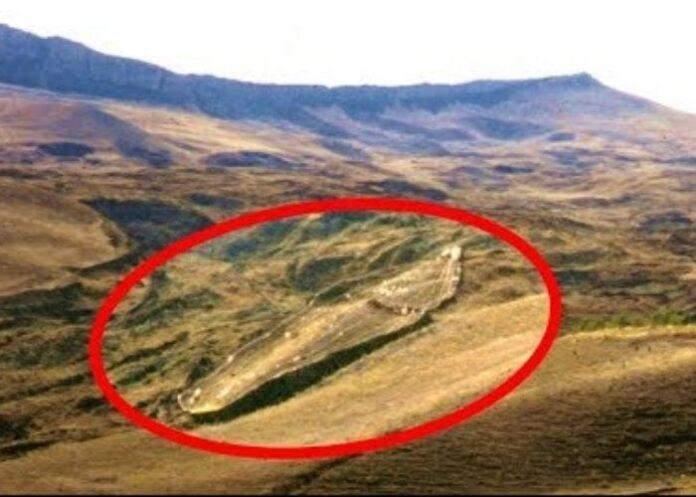Suposta arca de Noé na Turquia
